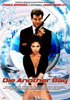 007 Die Another Day - Poster by NewYungGun on DeviantArt James Bond Movie Posters, James Bond Movies, Film Posters, Casino Royale, Estilo James Bond, African Memes, Toby Stephens, Bond Girls, Car Girls