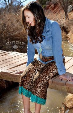 $30 Turquoise Gauchos Perfect for Summer - Pair with your favorite denim top or a casual tee - these pants are a must have.  Made in Made in USA of Fabric 95% Rayon 5% Spandex @ Gatsby & Grace _ Coco's