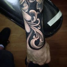 What does filigree tattoo mean? We have filigree tattoo ideas, designs, symbolism and we explain the meaning behind the tattoo. Side Tattoos, Body Art Tattoos, Tattoo Drawings, Tattoos For Guys, Cool Tattoos, Maori Tattoos, Tattos, Arabic Tattoos, Dragon Tattoos