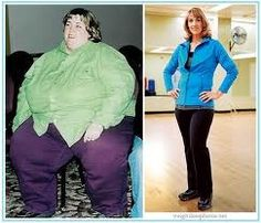 weight loss before and after, if she can do it then you can do it too!
