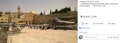 Screenshot: (12) Jukka Niemi Tag Photo, Photo Wall, Western Wall, Information Center, Photo Editing, Blessed, Peace, Blessings, Christianity