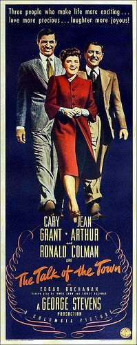 ABSOLUTELY a gem of a film with Cary playing against type as Leopold Dilg, a fugitive from persecution for a crime he didnt commit. Jean Arthur and Ronald Colman are tremendous and Rex Ingram as Colman's man is excellent as always.