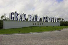 The resort entrance Punta Cana, Entrance, Bahia, Caribbean, Entryway, Door Entry