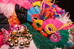 Here are just a few ideas to get you in the Carnival spirit!