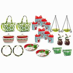 BIG BUDDY BUNDLE #12 2 of EACH item included 18021 Natural Elements Bird Bath 12224 Tiny Baubles Necklace 50709 Christmas Cupcakes Cookies For Santa 01419 Weekend FunTote - Petal Green* 61702 Dottie Dee & Me Wristlet - Green/White* 01214 Dashing Lighted Snowman 93370 Christmas Sprinkles Bean Pot 22504 Share The Joy Gift Bags - Set of 4 $500.00 VALUE FOR ONLY $150.00