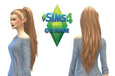 The Sims 4 CC Hair Maxis Match