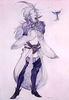Week 9 - Final Fantasy IX - Concept Art Mon - Kuja