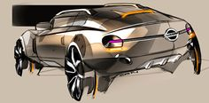Car design sketches #5