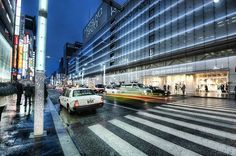 This is one of my favorite areas of Tokyo called Ginza. Its an amazing place to wander around in the evening to see what you stumble across! :) #treyratcliff More on my blog at http://ift.tt/qCe472