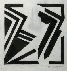 New addition: Abstract work from Peter Struycken
