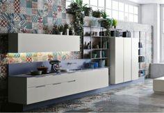 Loft style kitchen design by michele marcon - kitchen ideas Modular Furniture, Kitchen Furniture, Kitchen Interior, New Kitchen, Kitchen Ideas, Kitchen Modern, Kitchen Island, Modern Kitchens, Kitchen Cabinets