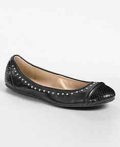 I also broke down and bought these in silver- Coach ballet flats
