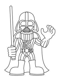 ausmalbild: lego star wars darth vader. kategorien: lego