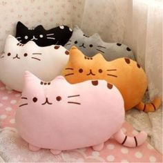 I am Pusheen the Cat cushion cute pillow