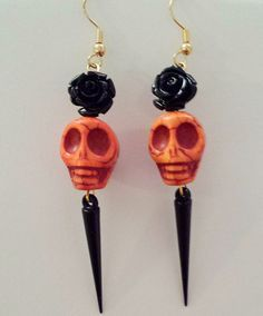 Day of the Dead/Skull Jewelry/Goth on Pinterest | 63 Pins