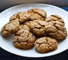 molasses-ginger-cookies-vegan