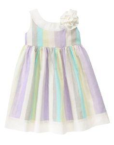 Gymboree Girls 18-24M Spring Party Stripe Blossom Dress Set NWT $40 #Gymboree #Dressy