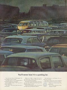 1964 VW Station Wagon Rare Vintage Volkswagen Van by AdVintageCom