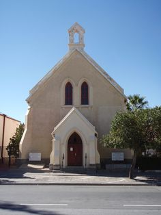 Old style church, Donkin Street, Beaufort West, South Africa