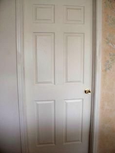 idea to use new panel stencil, doors