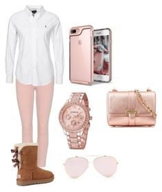 """"" by lyncia09 ❤ liked on Polyvore featuring Citizens of Humanity, UGG and Aspinal of London"