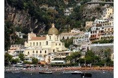 Positano is a cascade of colours, writes Yvonne Gordon for The National