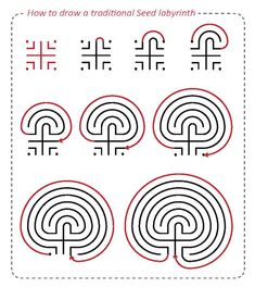 How to draw a labyrinth - Imgur