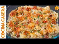 Coliflor al horno - Recetas de Cocina Casera - Recetas fáciles y sencillas