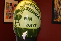 Click to VOTE for this #watermeloncarving! By Steven Stallone
