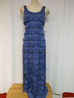 Sensational Maxi Dress with Swarovski Crystals – Silhouette Fashion Boutique