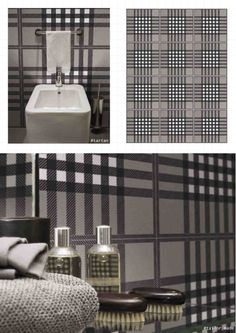 The real richness is its #simplicity. Ornamenta by #Gammadue. A beautiful #tartan