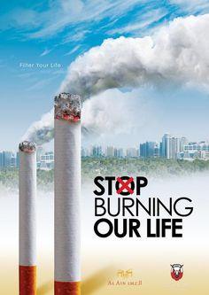 30 โฆษณารณรงค์งดสูบบุหรี่ ที่เสียดสีและสร้างสรรค์แบบสุดๆ - เพชรมายา