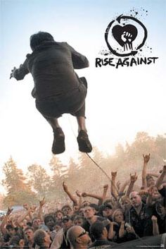 Rise Against- Live Pic poster