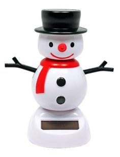 Solar Dancer Winter Holiday Frosty the Snowman