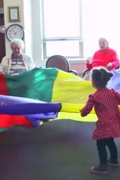 When A Preschool Is Located In A Nursing Home, Magic Happens