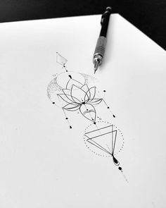 I'm not too keen on the flower of this but love the bottom half P Tattoo, Unalome Tattoo, Sternum Tattoo, Lotus Tattoo, Tattoo Fonts, Back Tattoo, Time Tattoos, New Tattoos, Body Art Tattoos