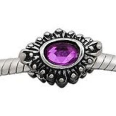 Five Lovely Purple Silver Plated Euro Spacers. Starting at $5 on Tophatter.com!Euro Bracelet Supplies No.59 March 8, 1pm EST