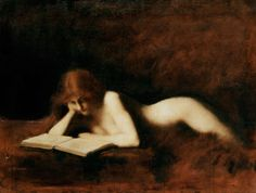 Jean-Jacques Henner 'La Liseuse', 1880-1890
