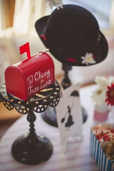 Fun decorations at a Mary Poppins birthday party! See more party ideas at CatchMyParty.com!