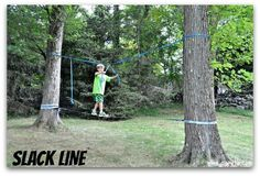 For his 11th birthday, my son wanted his own backyard American Ninja Warrior Birthday Party competition! So we set about constructing a course in our backyard that matches the American Ninja Warrior theme and challenges, at a level that kids can actually do. Here's how we did it