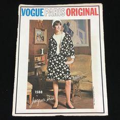 VPO 1588 Jacques Heim Dress & Jacket 60s Sz12/32/34 uncut bin 9.95+fr Sept'17