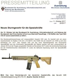 HK416 A7 to be called G95 by the German Special Forces - The Firearm BlogThe Firearm Blog