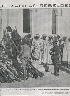 HOJA NOTICIA. DICIEMBRE DE 1921. SUMISION DE KABILAS EN ZAIO. GUERRA DE MARRUECOS. RIQUELME. (Papel - Revistas y Periódicos Antiguos (hasta ...
