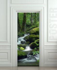 "Wall Door STICKER brook, forest, stream, , mural, decole, film 30x79"" (77x200 Cm) Pulaton http://www.amazon.com/dp/B00CBD0W8E/ref=cm_sw_r_pi_dp_hCAZwb1AEXVYB"