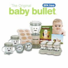 Make a week's worth of all-natural #baby food in minutes!