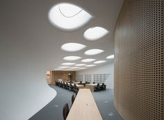 zaha hadid investcorp building oxford university middle east centre st antony's college designboom