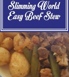 Easy Beef Stew - Slimming World Recipe - Shell Louise Slimming World Beef Recipes, Casserole Recipes, Soup Recipes, Easy Beef Stew, Winter Food, Main Meals, Fall Recipes, Shell, Health Fitness