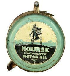 Nourse Motor Oil Rocker Can