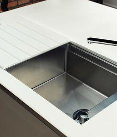 Magnet hidden sink | Kitchen ideas | Pinterest | Sinks and Kitchens