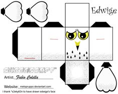 Edwige cubeecraft by melopruppo.deviantart.com on @deviantART